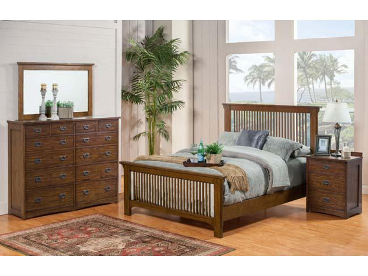 Winners Only - Colorado Slat Queen Bed
