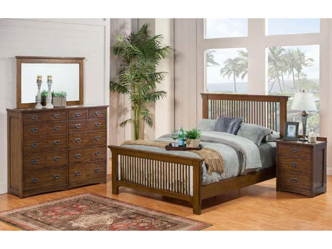 Slat Queen Bed