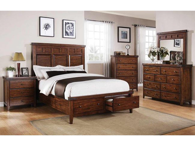 2-Drawer Storage Bed
