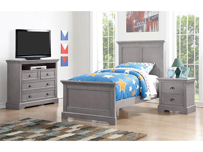 Panel Twin Bed