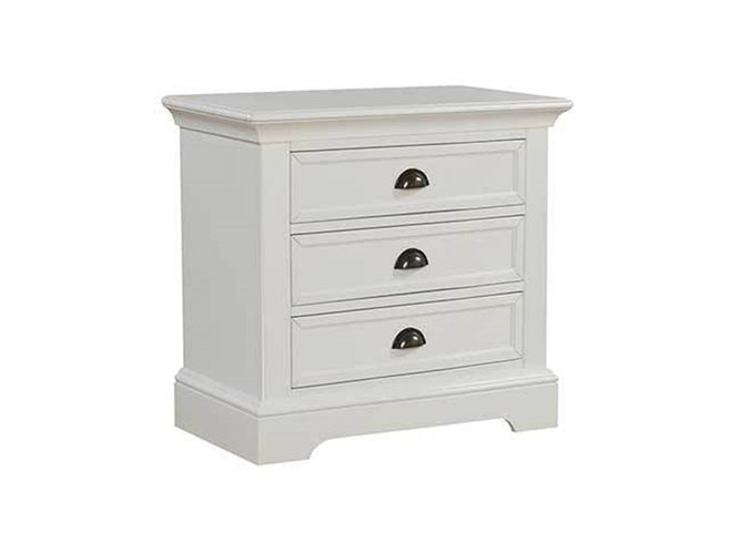 "28"" 3-Drawer Nightstand"
