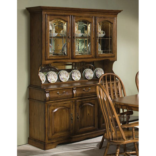 Burnished Large China Cabinet