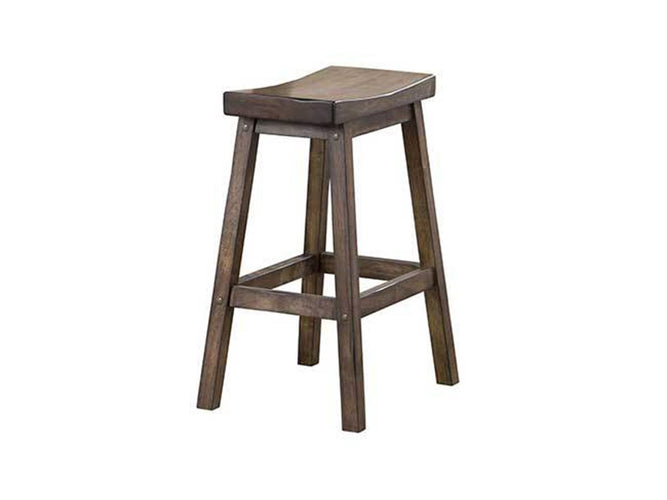 "24"" Saddle Barstool"