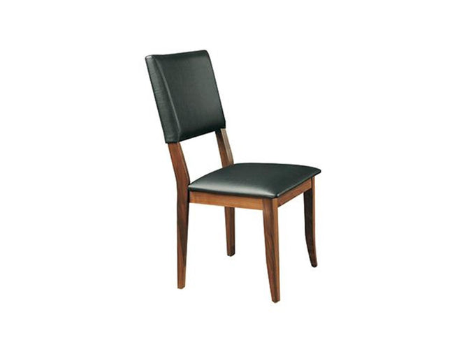 Black Cushioned Side Chair