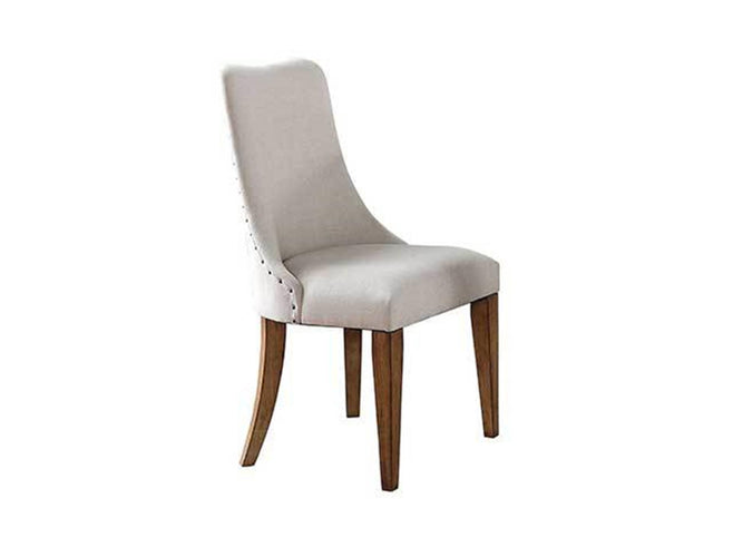 Barrel Back Upholstered Side Chair