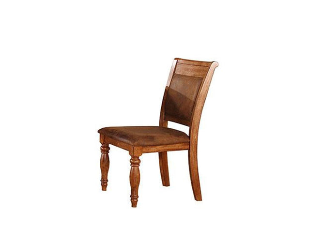 Microfiber Cushioned Back Side Chair