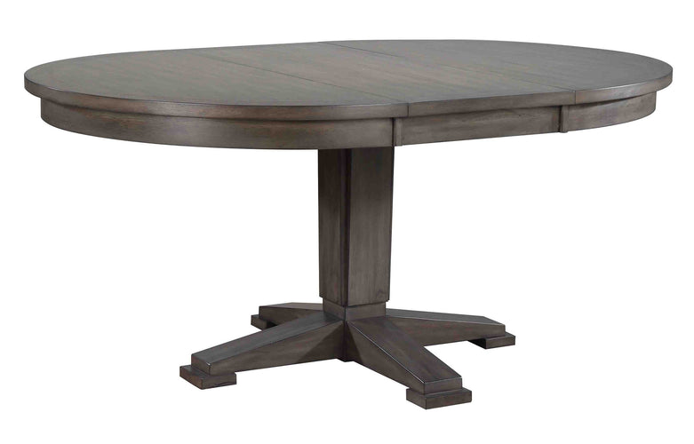66 in Pedestal Table w/ 18 in Leaf