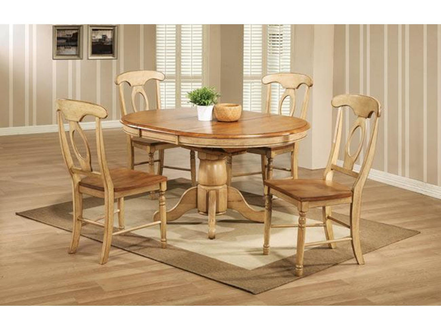 Quails Run 57 Pedestal Table With 15 Butterfly Leaf Dining Furniture In Vancouver Wa Vancouver Woodworks