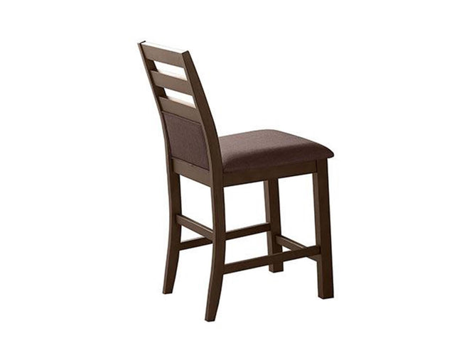 Cushioned Ladder Back Barstool