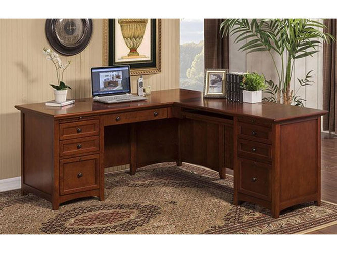 "72"" Desk w/ 48"" Return"