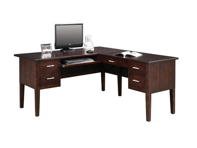 "62"" Desk with 40"" Return"