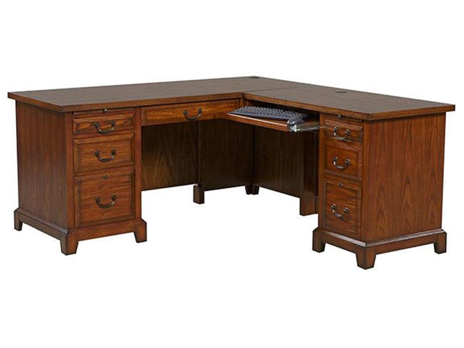 "66"" Desk with 42"" Return"