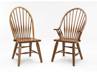 Rustic Windsor Arm Chair
