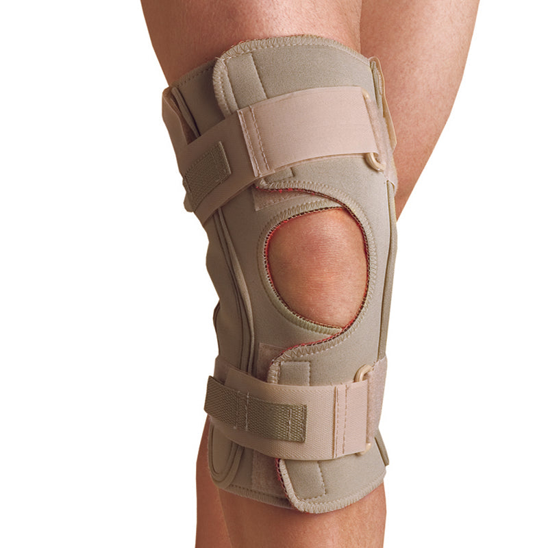 Thermoskin Hinged Knee Wrap Single Pivot Brace