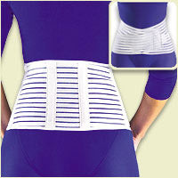 FLA Cool and Lightweight 7in Lumbar Sacral Back Support