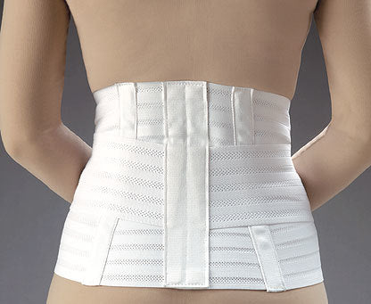 FLA Ventilated Lumbar Support w/ Abdominal Belt