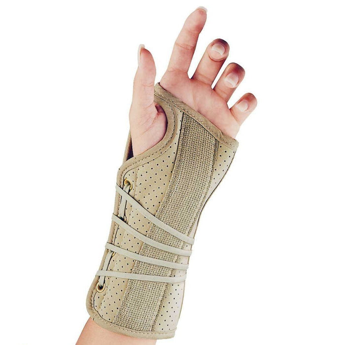 FLA Soft Fit® Suede Finish Wrist Brace