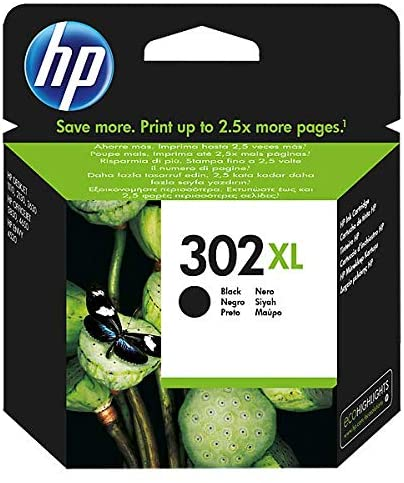 CARTUCCIA ORIGINALE HP 302XL NERO