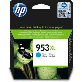 CARTUCCIA ORIGINALE HP 953XL CIANO