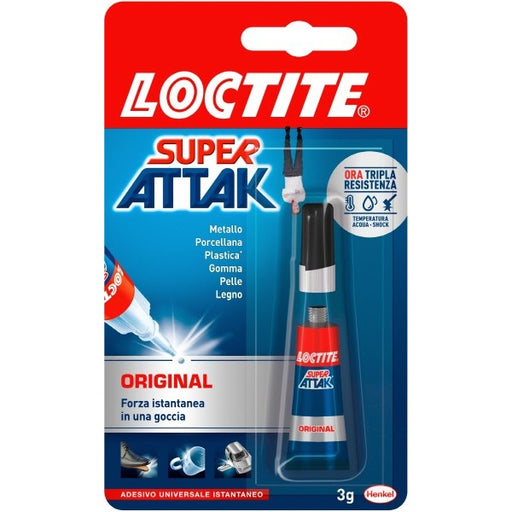 Colla Super Attak Original - 3 g