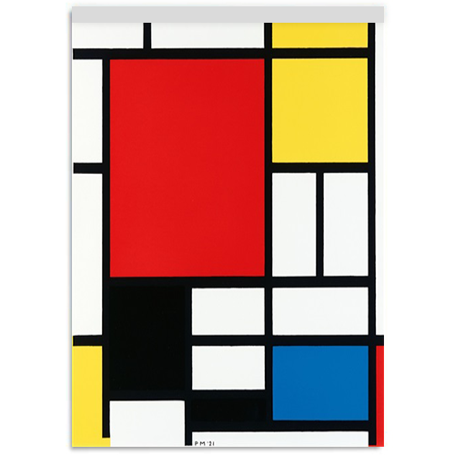 Blocco Notes Art Mondrian A4