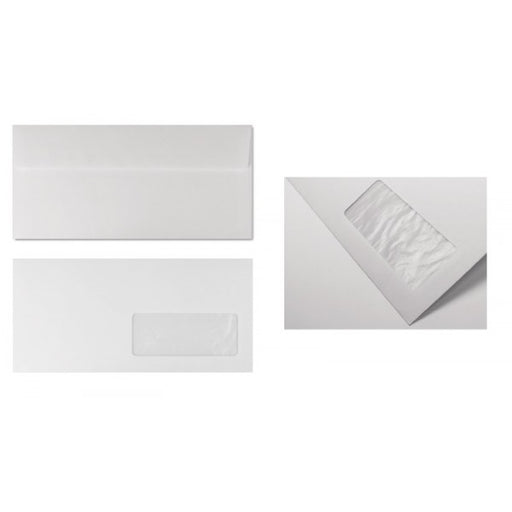 Buste commerciali eco-strip laser - 11x23 cm 90 g - 50pz.