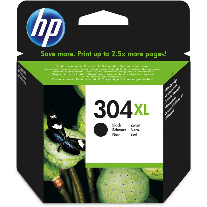 CARTUCCIA ORIGINALE HP 304XL NERO