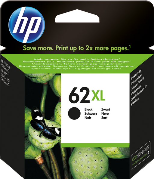 CARTUCCIA ORIGINALE HP 62XL NERO