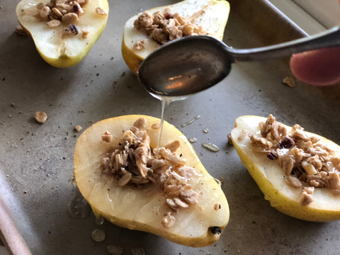 Baked Pears Good Life Naturals
