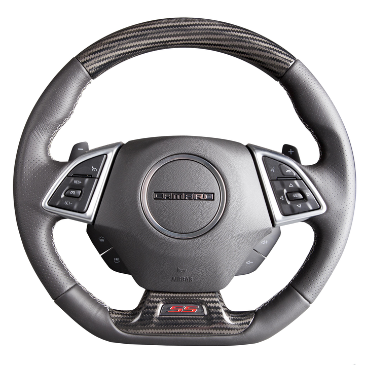 Camaro Gen 6 Carbon Fiber Custom Steering Wheel
