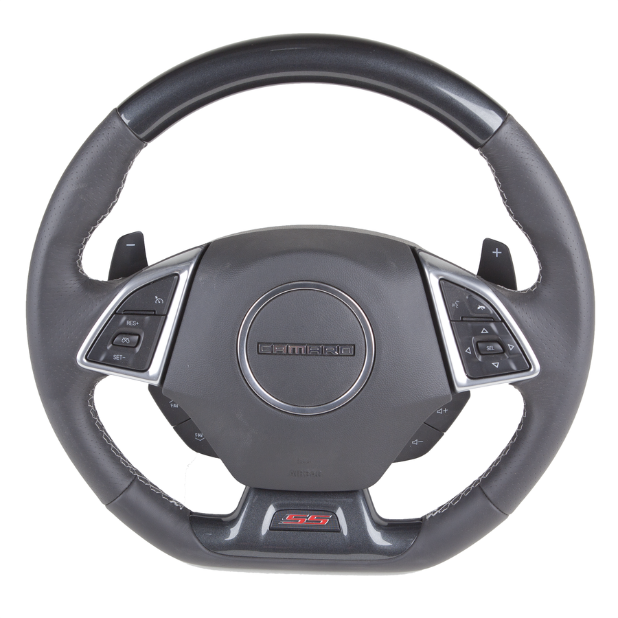 Camaro Gen 6 – Color-Matched Custom Steering Wheel
