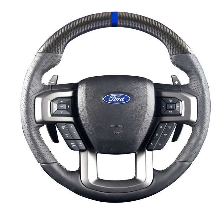 Raptor – Carbon Fiber Custom Steering Wheel