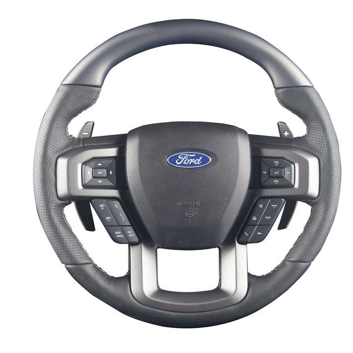 Raptor – Color-Matched Custom Steering Wheel