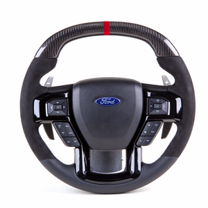 Raptor Hammerhead – Carbon Fiber Custom Steering Wheel