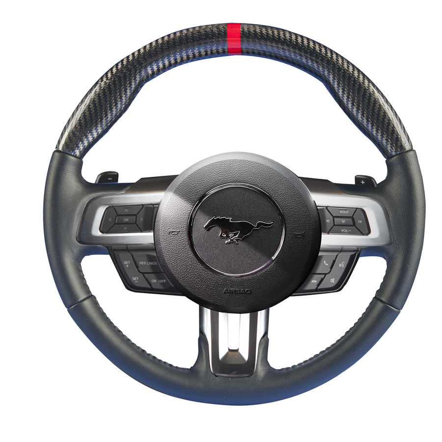 Mustang – Carbon Fiber Custom Steering Wheel