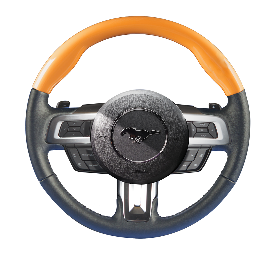 Mustang – Color-Matched Custom Steering Wheel