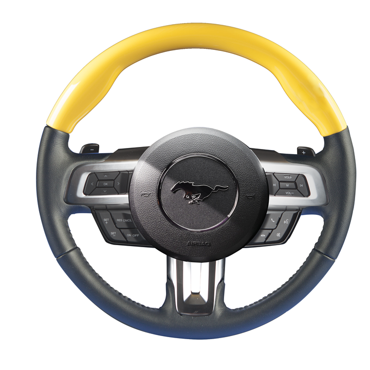 Mustang – Color-Matched Steering Wheel