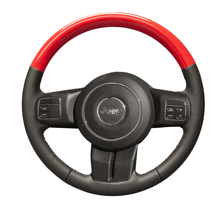 Wrangler JK – Color-Matched Custom Steering Wheel