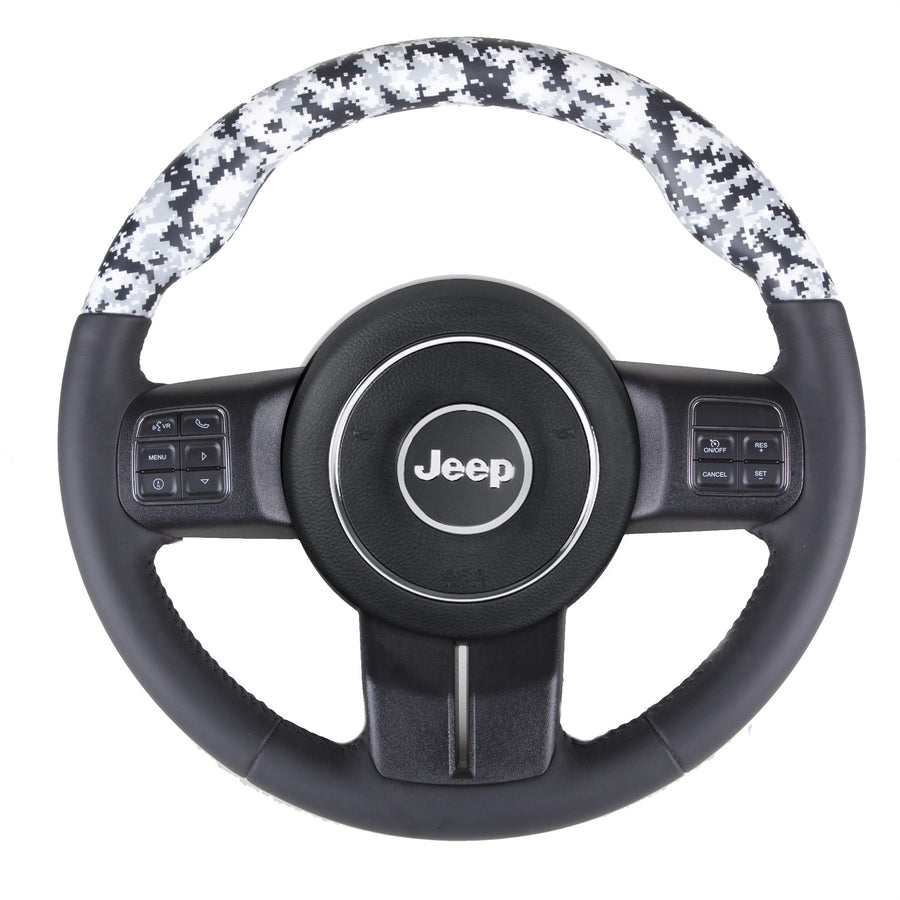 Wrangler JK – Digital Camouflage Custom Steering Wheel