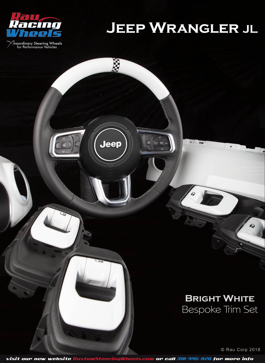 Jeep Wrangler JL Interior Trim Kit - Color-Matched