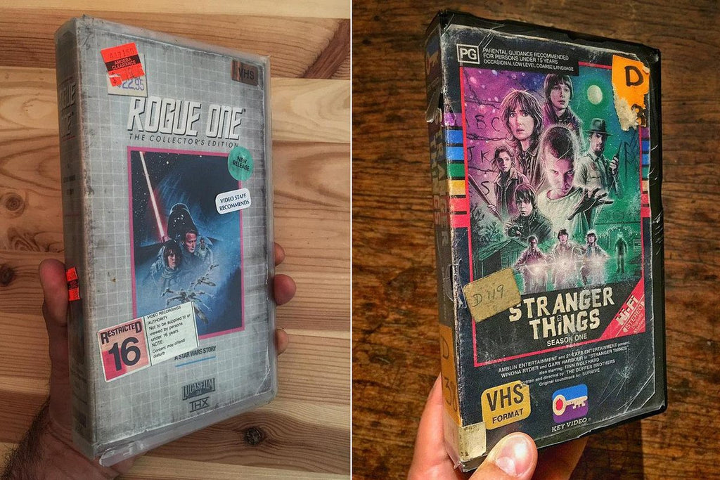 Steelberg: The King of VHS Art