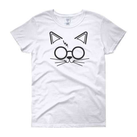 Harry Pawter funny cat t-shirts inspired by harry potter