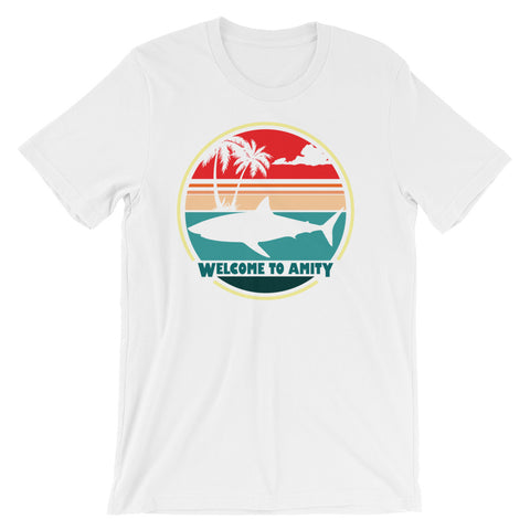 Welcome to Amity - Jaws Inspired Unisex T-Shirt
