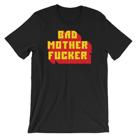 bad mother fucker pulp fiction jules t-short in black