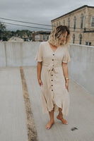 Ladies Who Lunch Linen Dress