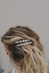 Pearl Barrette Set