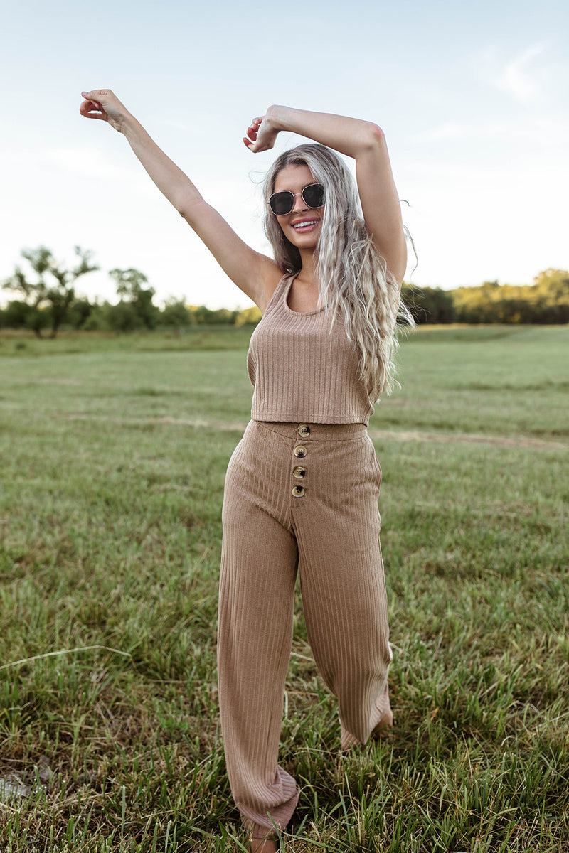 BAILEY TAN LOUNGE PANTS