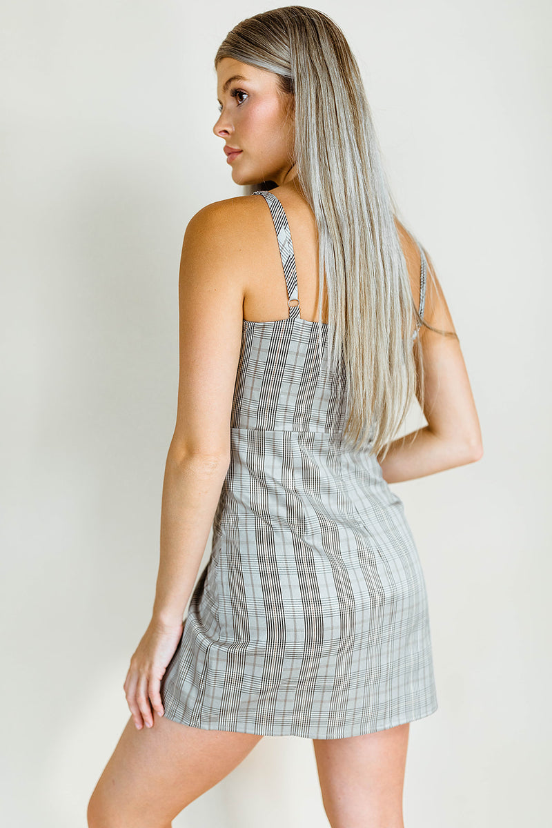 PLAID FOR YOU DRESS