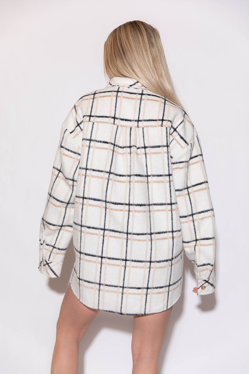 CHASE CREAM FLANNEL
