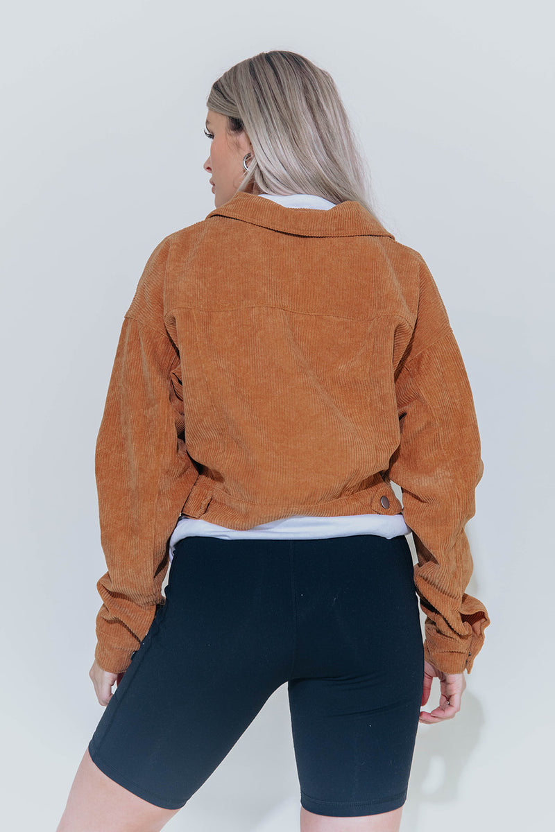 TARA CHESTNUT JACKET